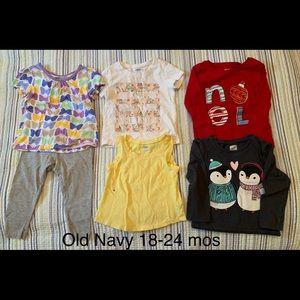 Toddler Girl Old Navy Lot